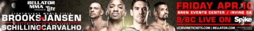 "Bellator: Brooks vs. Jansen"" lineup complete with 13 fights"