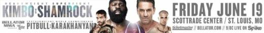 Kimbo Slice and Ken Shamrock get a world championship co-main event for June 19