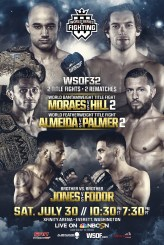 WSOF32 Main Card Complete with Addition of Middleweight Bout