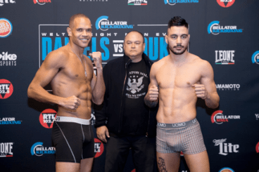Bellator MMA and Kickboxing Weigh-in Results