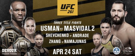 UFC Welcomes Back Live Fans With Three Blockbuster World Championship