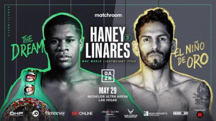 HANEY DEFENDS WBC TITLE AGAINST LINARES