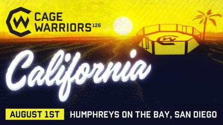 Cage Warriors partners with San Diego Harley Davidson for CW126