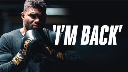 GLORYand Alistair Overeem agree to multi-year contract