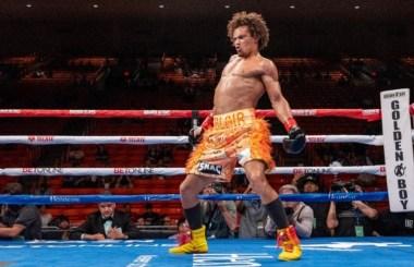 """Blair """"The Flair"""" Cobbs, wants a big fight!"""
