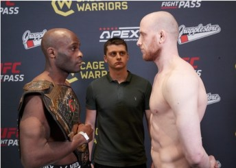 CW 123 Preview and weigh-in results