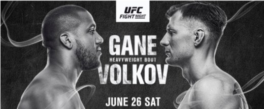UFC® returns to Las Vegas with a pair of heavyweight bout