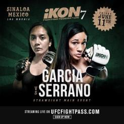IKON 7 MMA results