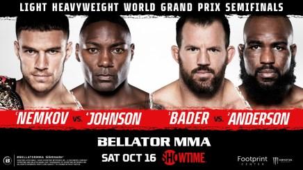 BELLATOR MMA Light Heavyweight World Grand Prix Resumes