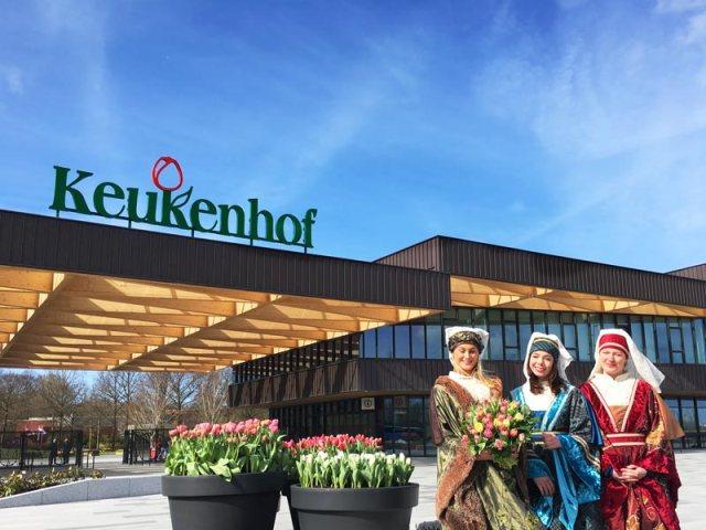 Novidades para o o parque das tulipas em 2017: novo portão