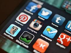social media set up