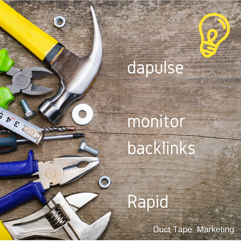 dapulse, monitor backlinks, rapid