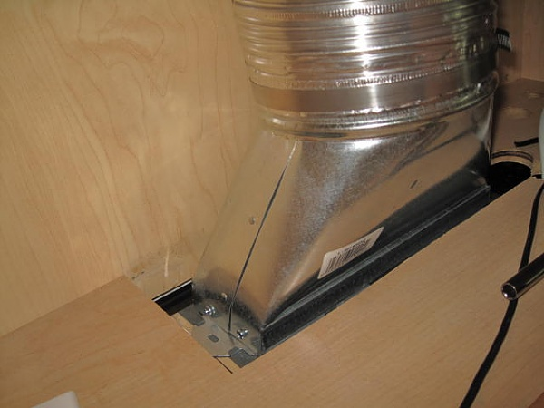 kitchen exhaust vent wall cap island in the microwave hood