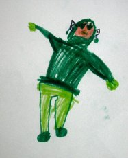 Little leprechaun by my youngest