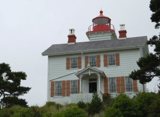 On day two after we did the Aquarium we went to the Yaquina Bay lighthouse.