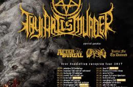 thy art is murder dear desolation tour poster