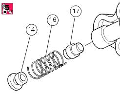 Ducati Diavel Service Manual: Reassembly of the oil pump