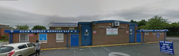 Picture of the frontage of Club Dudley in Waterloo Street. © Google Streetview