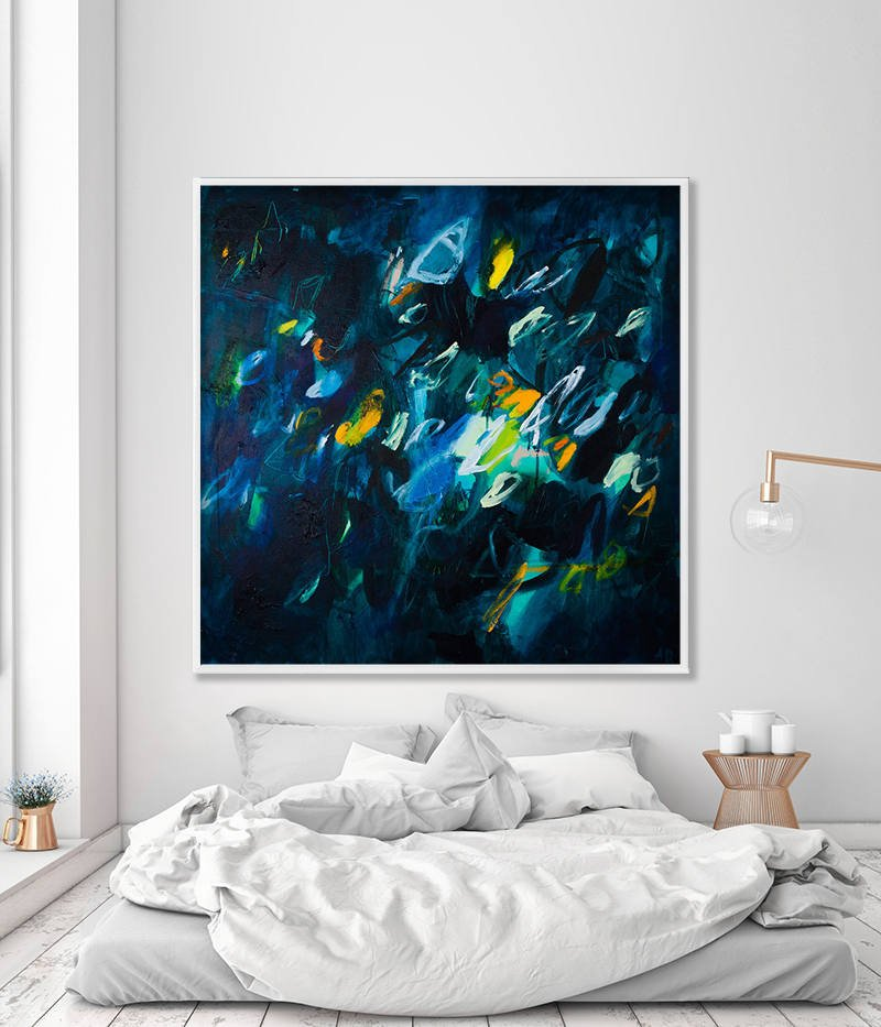 large wall art abstract