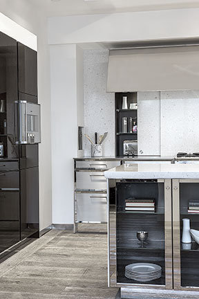 oak kitchen cabinets nook furniture siematic new york redefines the showroom with ...