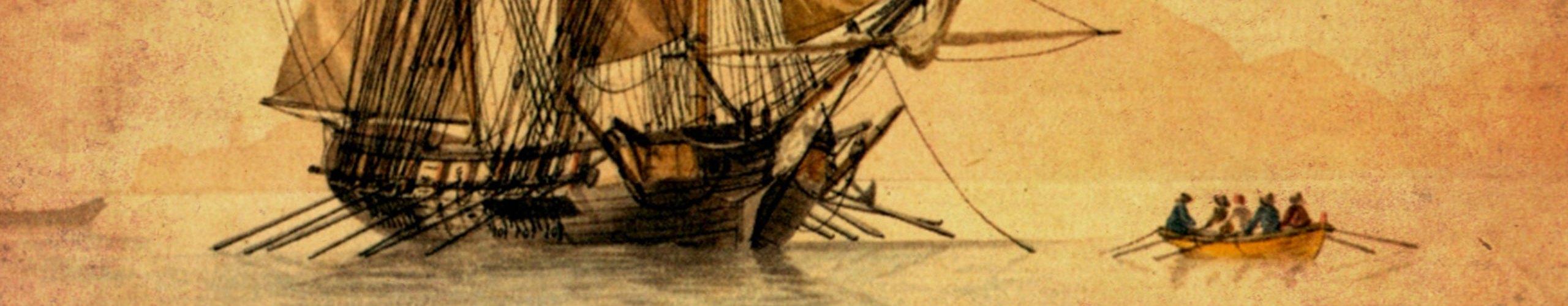Rowing to Treasure Island