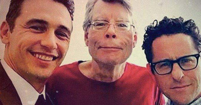 James Franco, Stephen King, and JJ Abram