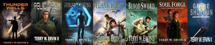 terry w ervin II fantasy sci fi novels