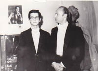 Horia Mihail cu Eduard Civil
