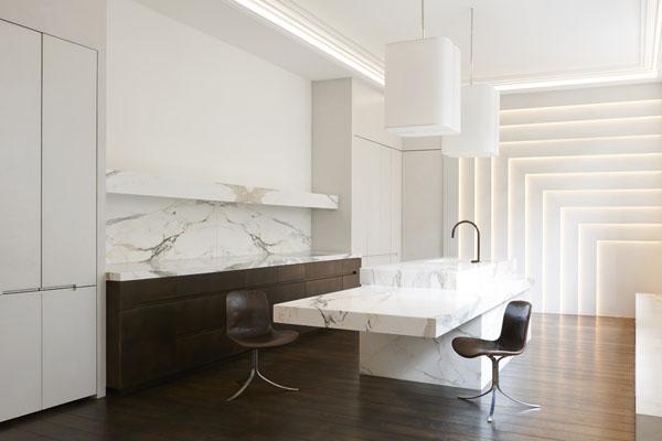 plan de cuisine en marbre