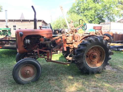 small resolution of we have two styled wc tractors for parts