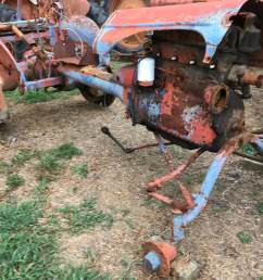 allis chalmers b tractor salvage [ 1067 x 800 Pixel ]