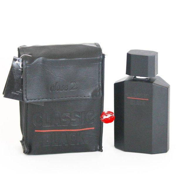 Classic Black Men Close2 Eau de Toilette 100 ml Herrenparfüm EdT Parfumes homme