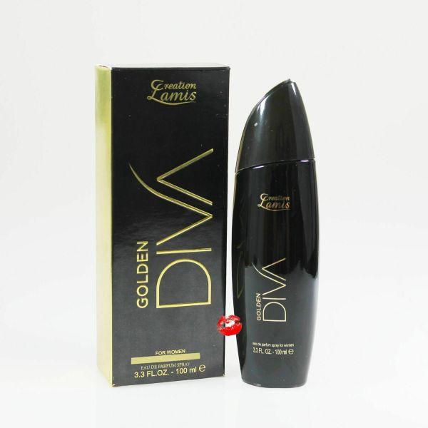 Golden Diva Lamis Creation Lamis Eau de Parfüm 100ml Damenparfüm EdP Parfume femme