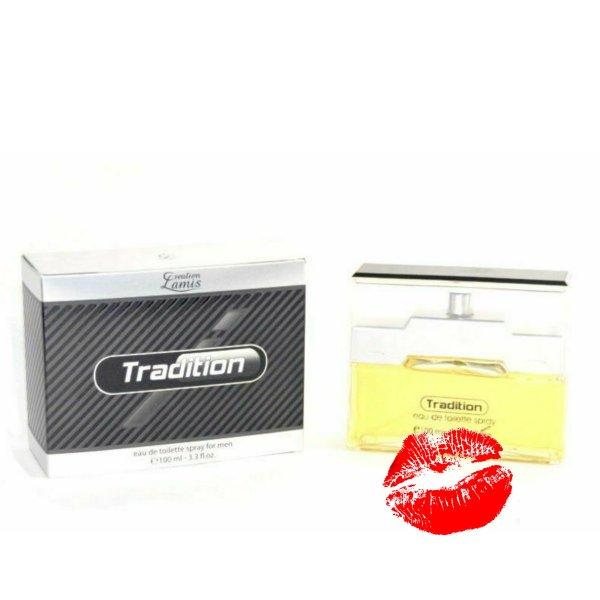 Tradition Men Creation Lamis Eau de Toilette 100 ml Herrenparfüm EdT Parfume homme