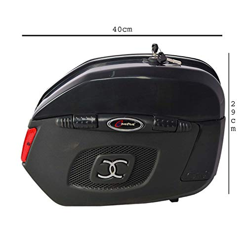 New Contra Universal Saddle Bag for All Motorcycles (Black)