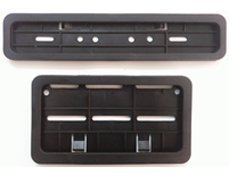 Dug Dug Bike Number Plates Frame Front and Back for All Motorcycles and Scooties