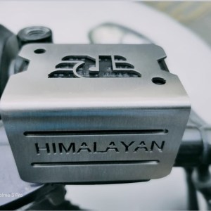 Brake Fluid Disk Oil Container Cover for Royal Enfield Himalayan