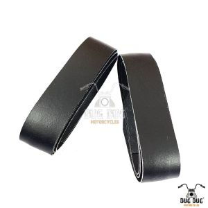 Leather Grip Wrap for Motorcycles - Dug Dug Motorcycles