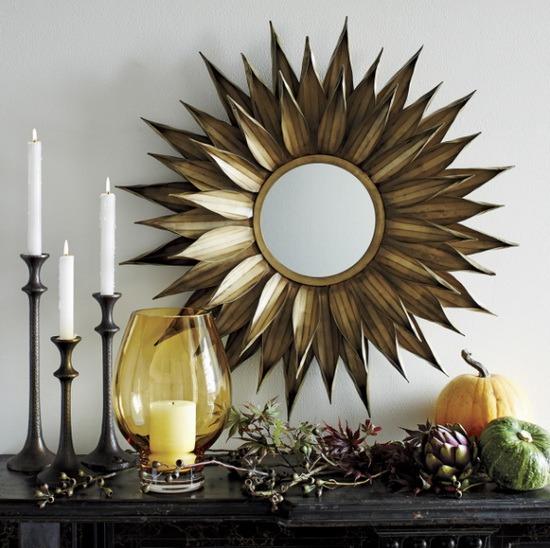 Crate and Barrel markası eviniz için farklı tasarımlarda çok şık Aynalar sunmuş.