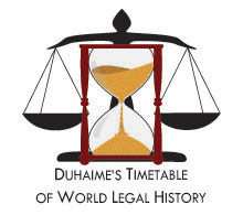 Timetable of Legal History logo