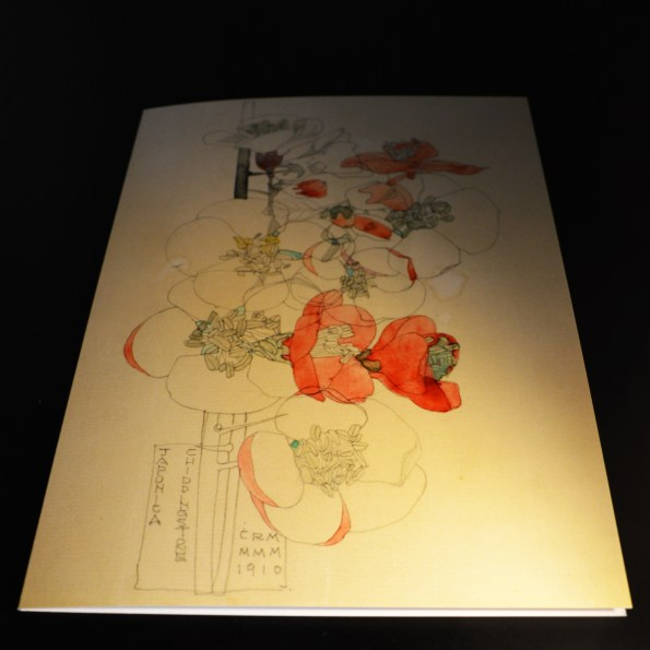 Charles Rennie Mackintosh - Japonica Art Card from Duille