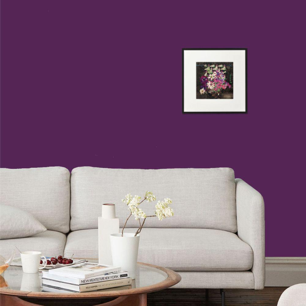 Petunias A4 print framed