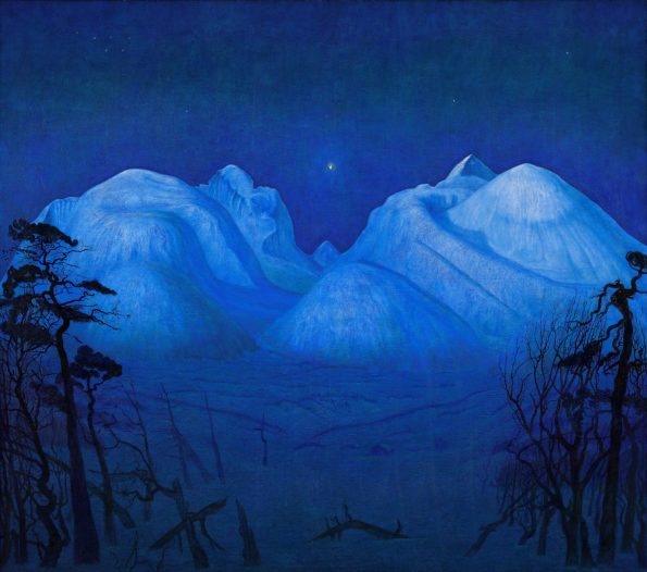 """""""Winter Night in the Mountains"""""""