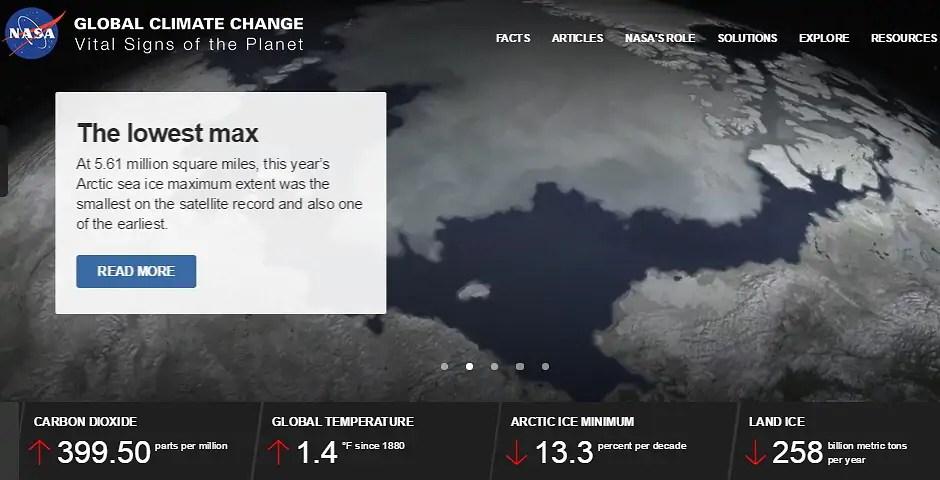 Klimaatverandering in beeld