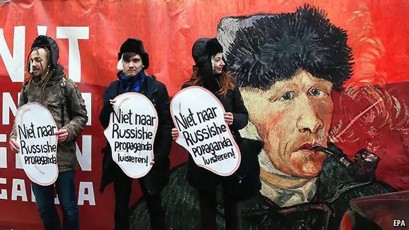 Wat zeggen internationale media over het Oekraïne-referendum?