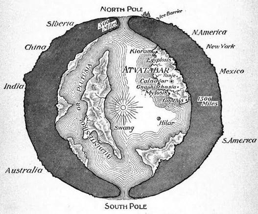 Complotdenkers: De aarde is hol