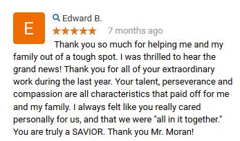 J.K. Moran Review