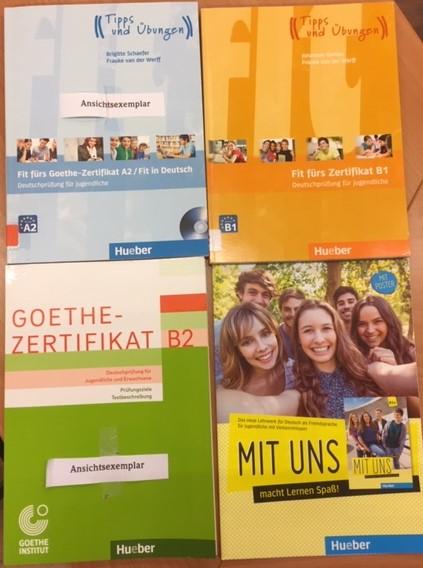 Goethe Zertifikat Duitse Boeken
