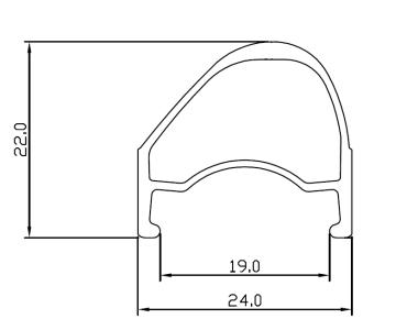 section Road Runner asymétrie