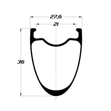 DUKE BACCARA 36C sls2 symétrique